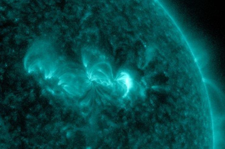esplosione sole oggi