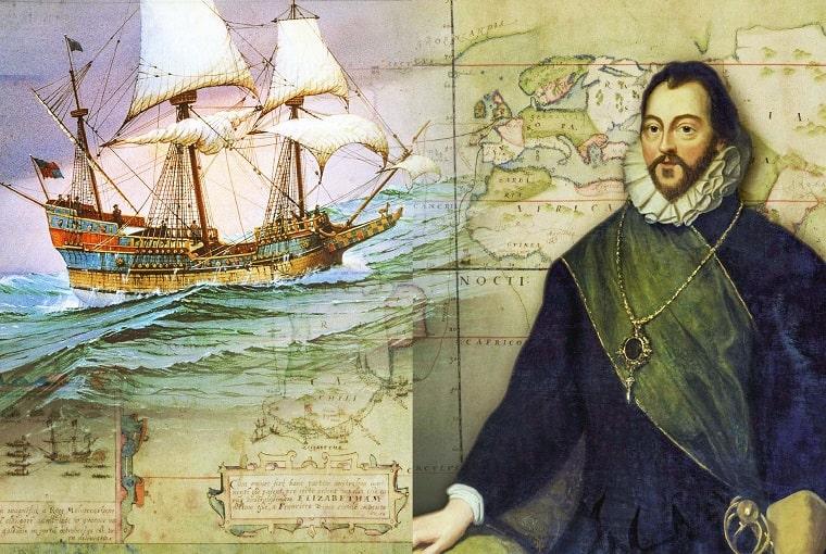 francis drake circumnavigazione