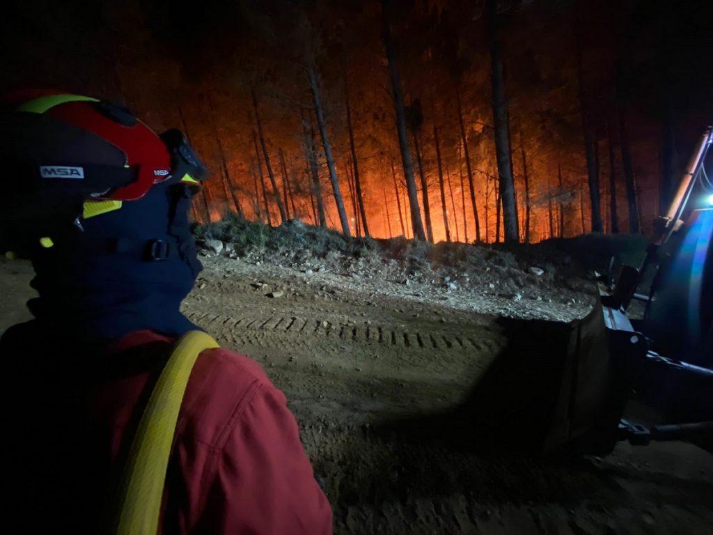 incendio galizia Spagna