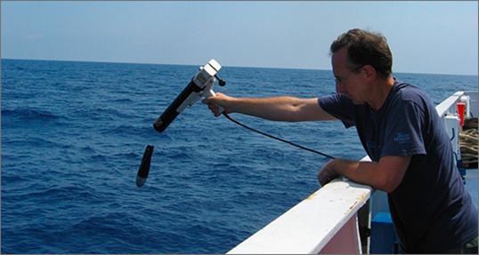 lancio sonda mare
