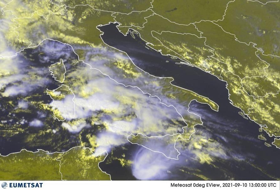 maltempo italia 10 settembre 2021