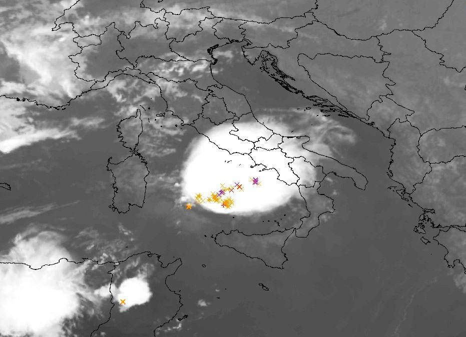 maltempo mcs temporalesco italia 3 settembre 2021