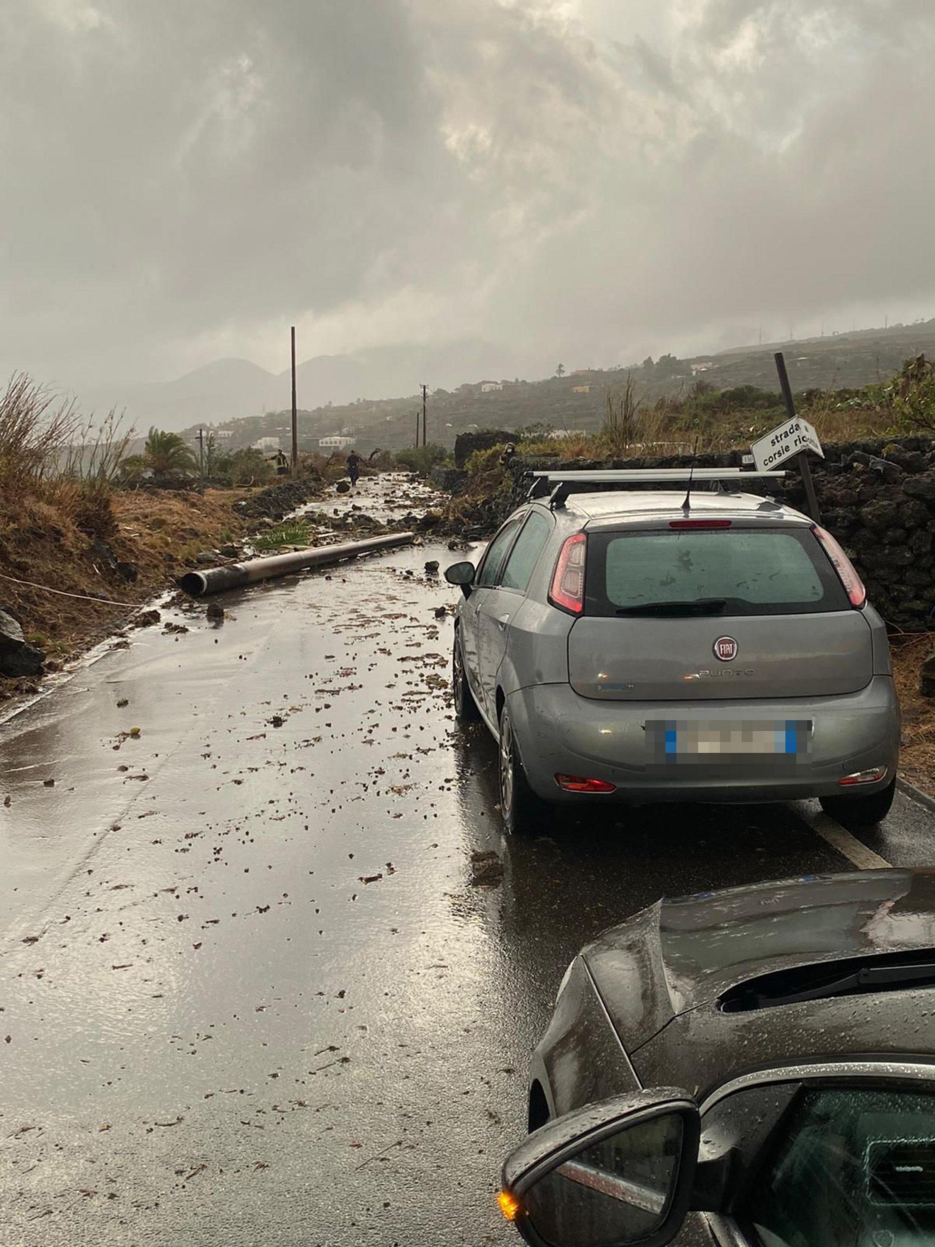 Tornado in Pantelleria