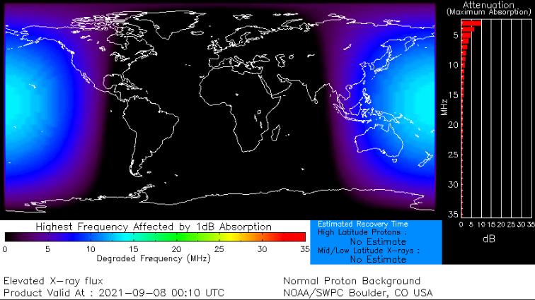 mappa blackout