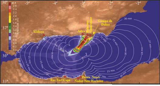 rischio tsunami spagna