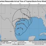Allerta Meteo negli USA: la tempesta tropicale Nicholas spaventa la Louisiana, dichiarato lo stato di emergenza [MAPPE]