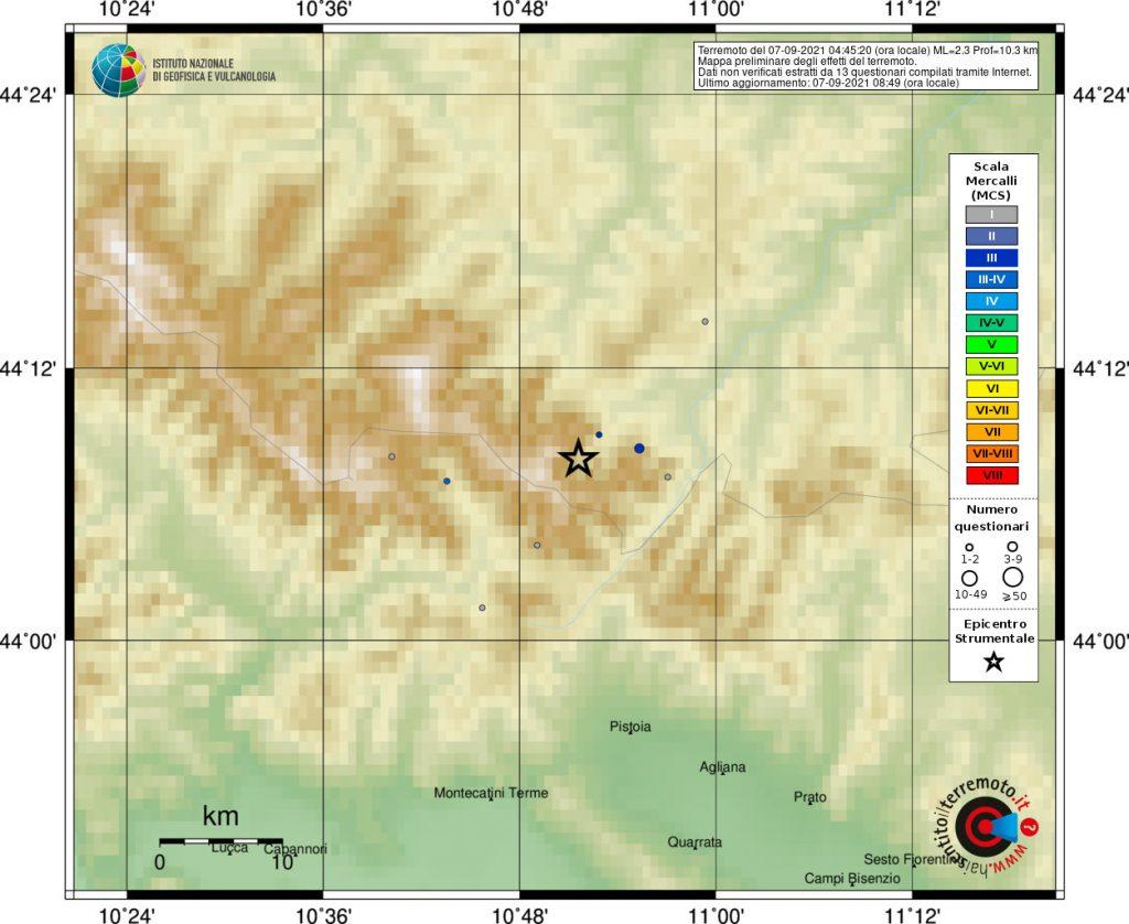 terremoto bologna lizzano in belvedere