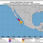 La tempesta Olaf si rafforza in uragano e si dirige verso il Messico: rischio alluvioni e frane nella Baja California