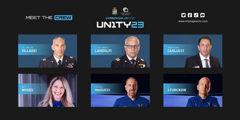 volo virgin galactic missione italiana