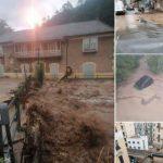 Alluvione in Liguria, situazione critica in Valbormida: esonda il Bormida, frane, smottamenti e strade danneggiate – FOTO