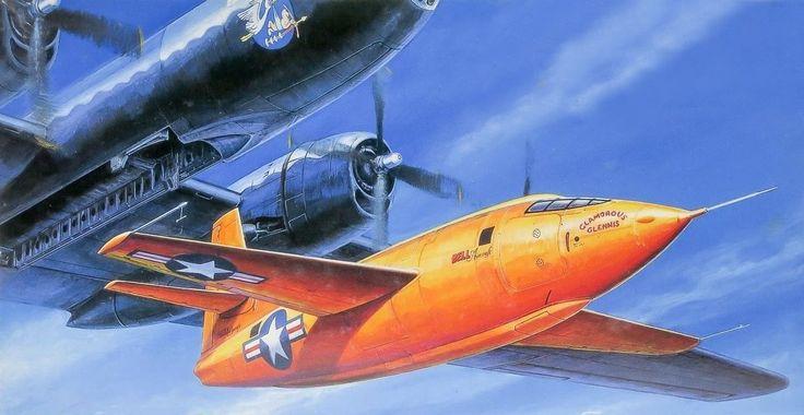 bell x-1 aereo supersonico