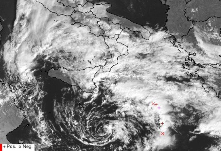 ciclone mediterraneo 26 ottobre 2021