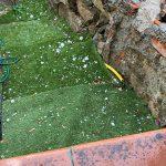 Maltempo, violenta grandinata in Sardegna: chicchi fino a 6cm nell'hinterland di Olbia – FOTO e VIDEO