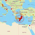 Grecia, nuovo violento terremoto scuote Creta: paura anche ad Atene, in Turchia e Nord Africa [VIDEO, MAPPE e DATI]